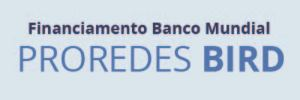 Banner que dá acesso ao site do Proredes BIRD - Financiamento Banco Mundial